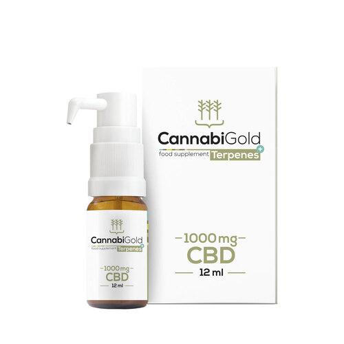 Cannabigold Cbd Terpenes + 1000 mg Öl - 1