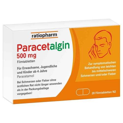 Paracetalgin 500 mg Filmtabletten - 1
