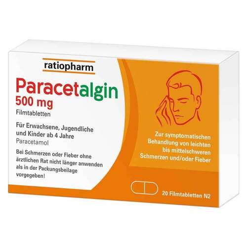 Paracetalgin 500 mg Filmtabletten - 2