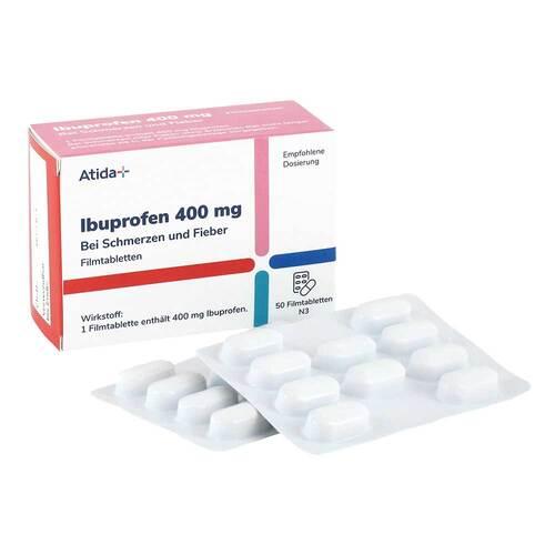 Atida+ Ibuprofen 400 mg Filmtabletten - 4