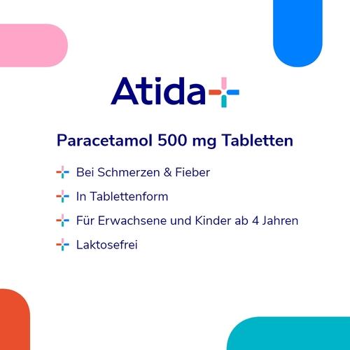 Atida+ Paracetamol 500 mg Tabletten - 2