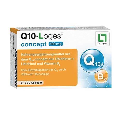 Q10-Loges concept 100 mg Kapseln - 1