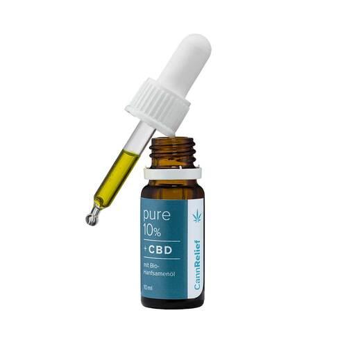Cannrelief Mundpflegeöl mit 10% Cbd - 2
