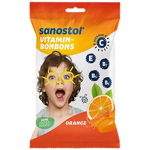 Sanostol Vitamin-Bonbons Orange - 1