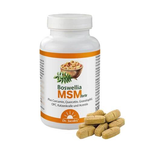 Boswellia MSM forte Dr. Jacob`s Tabletten - 1
