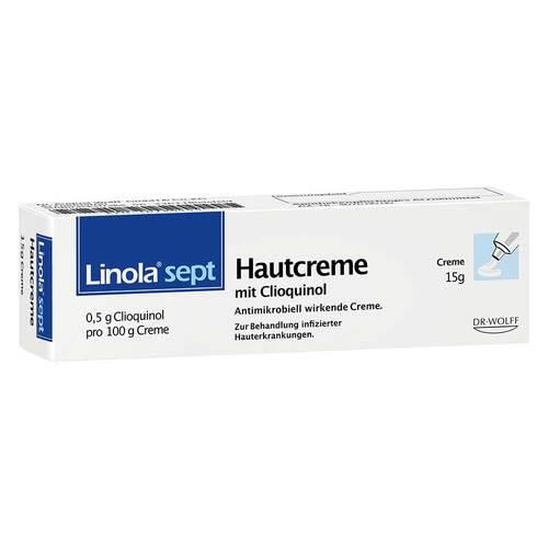 Linola sept Hautcreme mit Clioquinol - 2