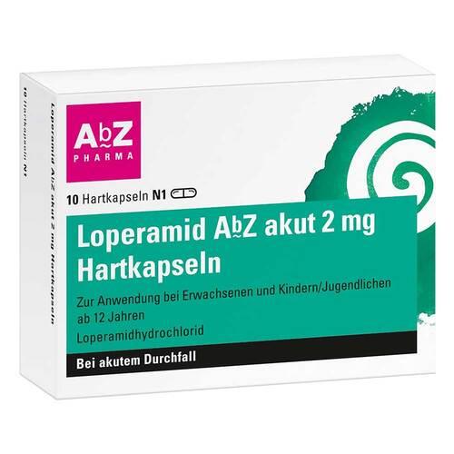 Loperamid AbZ akut 2 mg Hartkapseln - 1