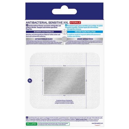 Hansaplast Sensitive Wundverband antibakt.8x10 cm - 2