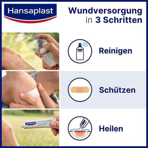 Hansaplast Sensitive Wundverband antibakt.8x10 cm - 4