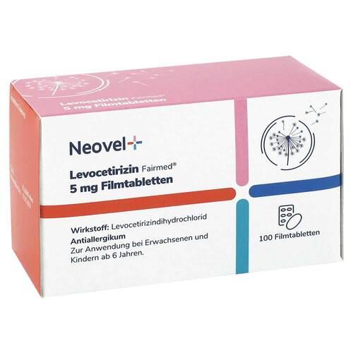 Levocetirizin Fairmed 5 mg Filmtabletten Neovel+ - 2