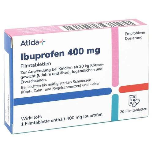 Atida+ Ibuprofen 400 mg Filmtabletten - 3