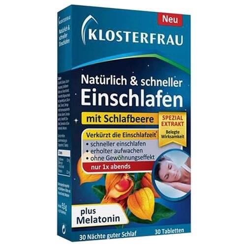 Klosterfrau natürlich & schneller Einschlafen Tabletten  - 1