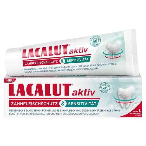 Lacalut aktiv Zahnfleischschutz & Sensitivität - 1