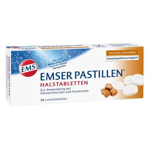 Emser Pastillen Halstabletten salted Caramel - 1
