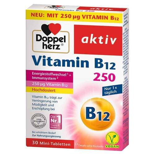 Doppelherz Vitamin B12 250 aktiv Tabletten - 1