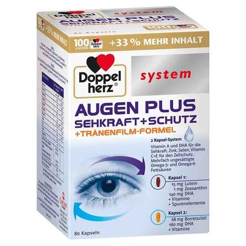 Doppelherz Augen plus Sehkraft + Schutz system Kapseln  - 1
