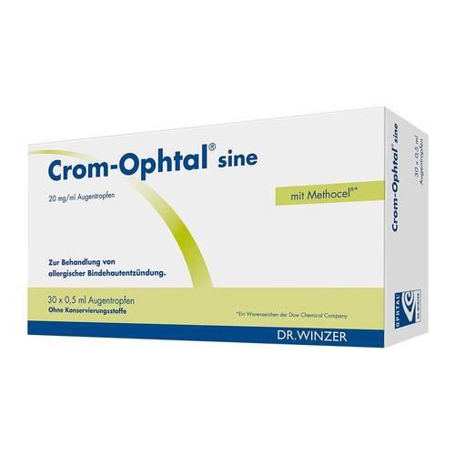 Crom-Ophtal sine Augentropfen Edb - 1