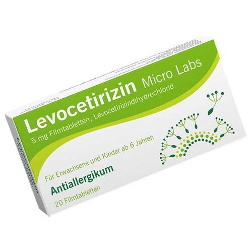 Levocetirizin Micro Labs 5 mg Filmtabletten - 1