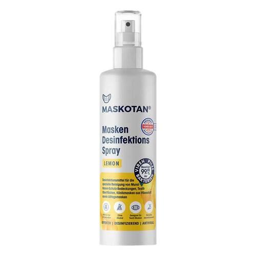 Maskotan Masken Desinfektions Spray Lemon - 1
