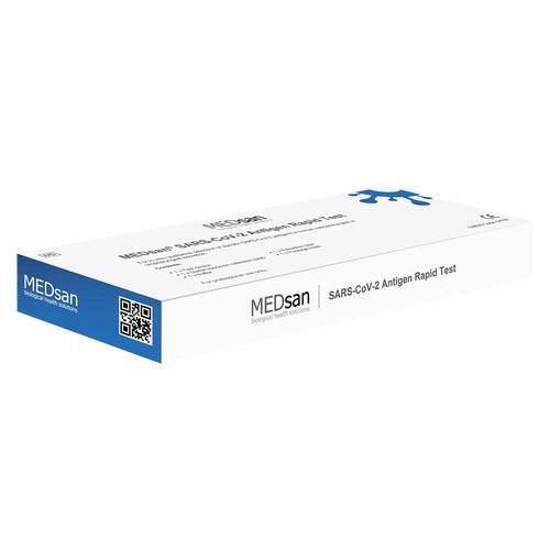 Medsan SARS-CoV-2 Corona Antigen Rachentest - 1
