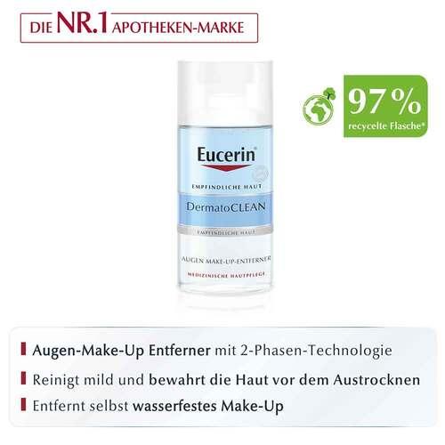 Eucerin Dermatoclean Augen Make-up Entferner - 2