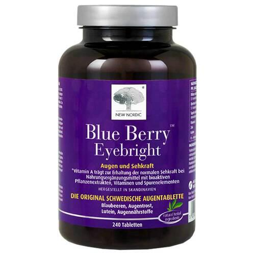 Blue Berry Eyebright Tabletten - 1