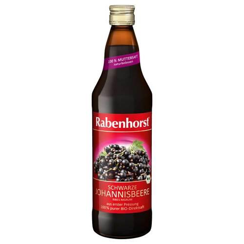 Rabenhorst schwarzer Johannisbeer Bio Muttersaft - 1