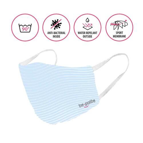 Bepolite Maske antibakteriell waschbar  - 2