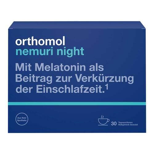 Orthomol nemuri night Granulat - 1