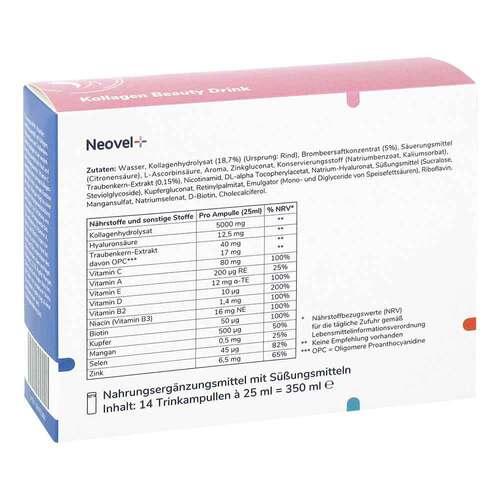 Kollagen Beauty Drink Neovel + Ampullen - 3