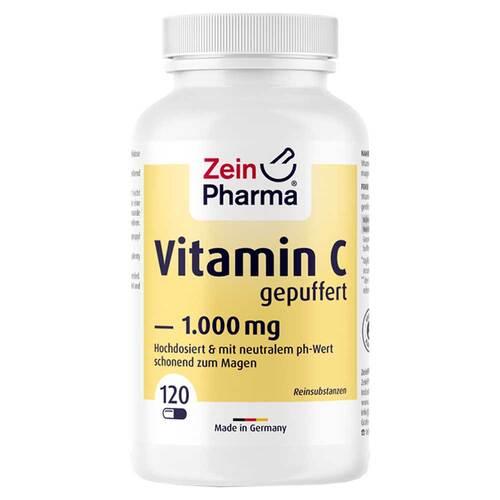 Vitamin C Kapseln 1000 mg gepuffert - 1