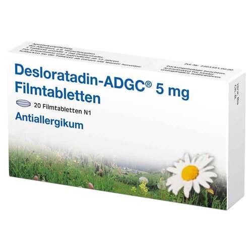 Desloratadin-ADGC 5 mg Filmtabletten - 1