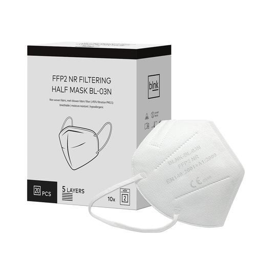 Blnk FFP2 NR Atemschutzmaske ohne Ventil 5lagig BL-03N - 1