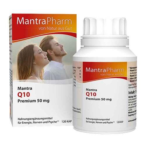 Mantra Q10 Premium 50 mg Kapseln - 1