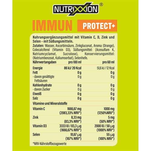 Nutrixxion SHOT Immun Protect + Trinkampullen - 3
