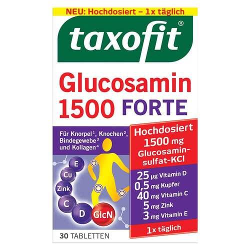 Taxofit Glucosamin 1500 Forte Tabletten - 1