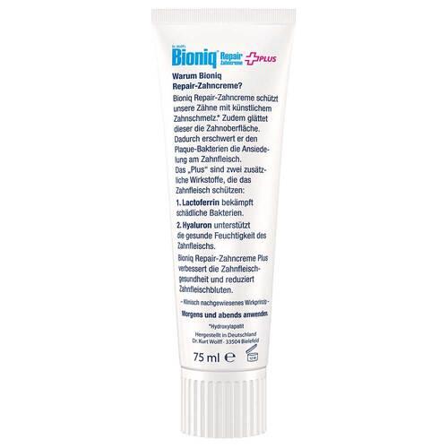Bioniq Repair-Zahncreme Plus - 3