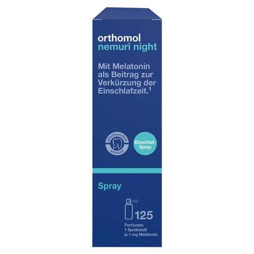 Orthomol nemuri night Spray - 1