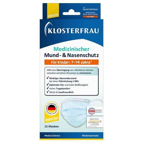 Klosterfrau med.Mund- & Nasenschutz 7 - 14 Jahre - 1