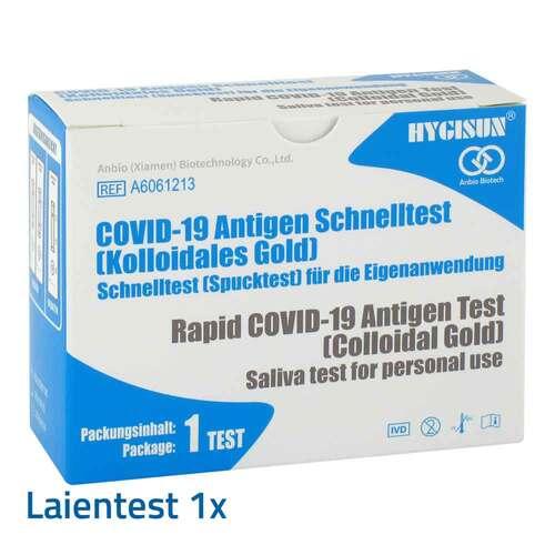 HYGISUN Covid-19 Corona Antigen Spucktest Selbsttest - 1