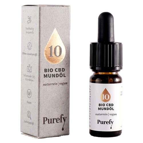 Bio Cbd Mundöl 10% Purefy - 1