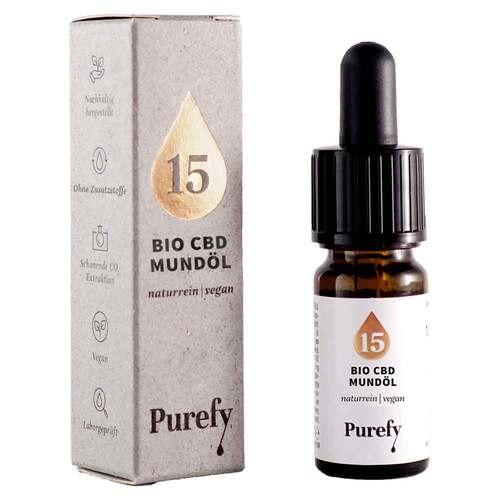 Bio Cbd Mundöl 15% Purefy - 1