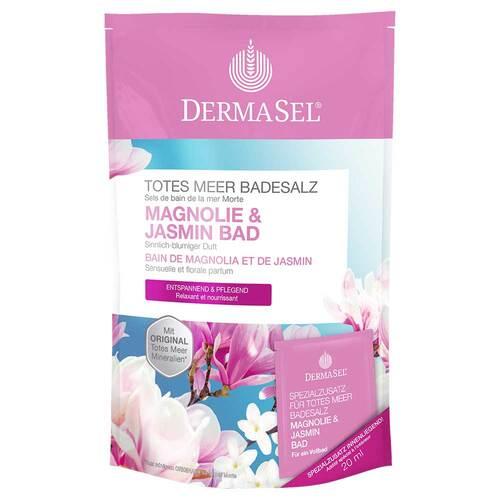 Dermasel Totes Meer Badesalz Magnolie & Jasmin - 1