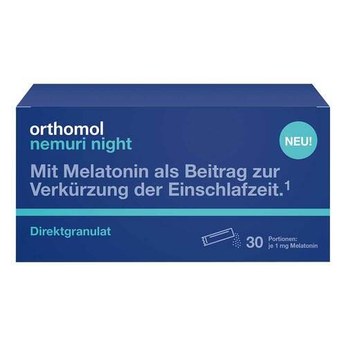 Orthomol nemuri night Direktgranulat - 1
