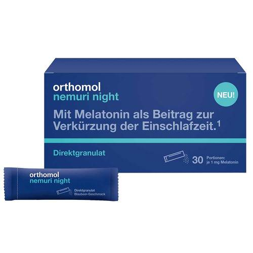 Orthomol nemuri night Direktgranulat - 2