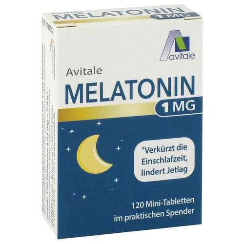 Melatonin 1 mg Mini-Tabletten im Spender - 1