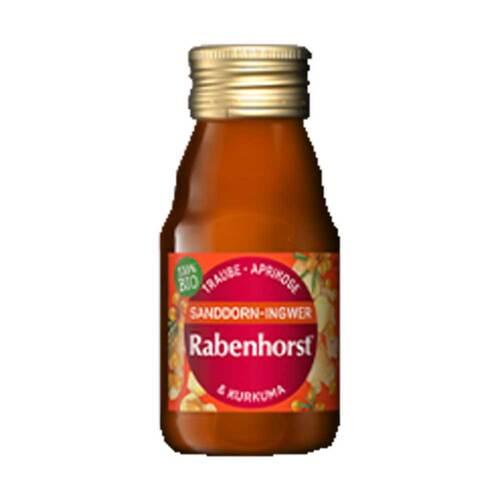 Rabenhorst Sanddorn-Ingwer Bio SHOT Saft - 1