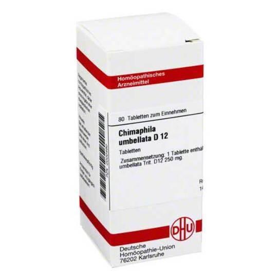 Chimaphila umbellata D 12 Tabletten - 1