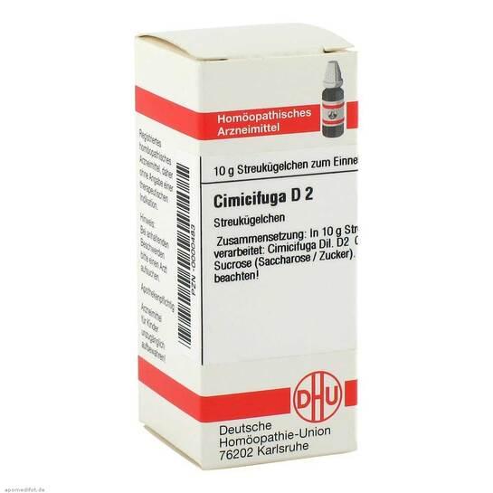 Cimicifuga D 2 Globuli - 1