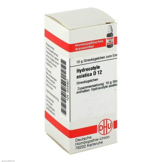 Hydrocotyle asiatica D 12 Gl - 1